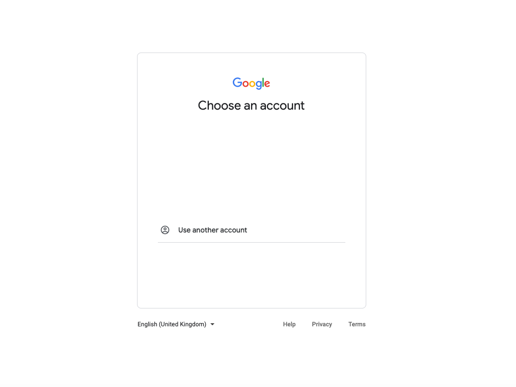 избиране на акаунт в гугъл адс