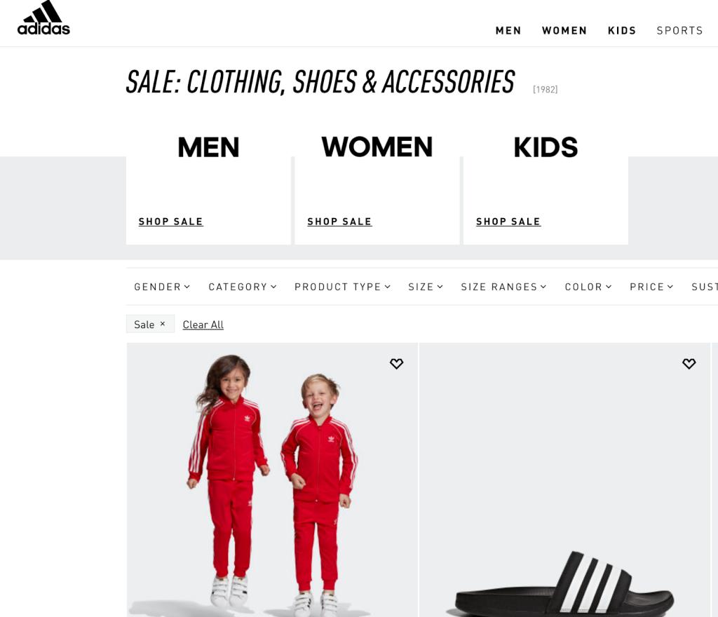 Adidas kids, Adidas sale