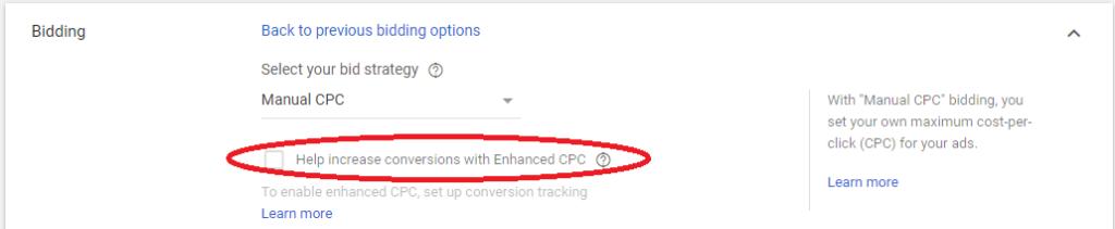 автоматично коригиране на цената на бид като стратигия за наддаване в google ads