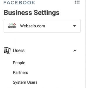 настройки на фейсбук бизнес мениджър