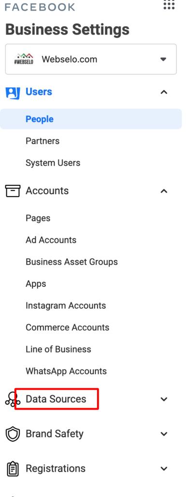 от къде се предоставя достъп до фейсбук пиксел