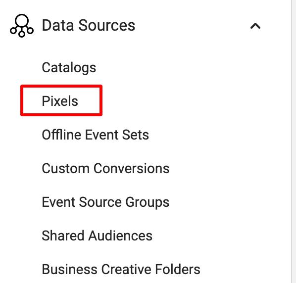 предоставяне на достъп до фейсбук пиксел